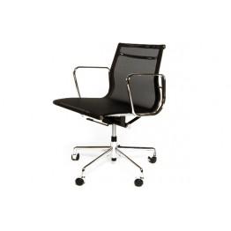 D2.DESIGN Fotel biurowy CH1171T czarna siateczk,ch
