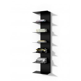 INTESI Biblioteczka Libra 2 czarna