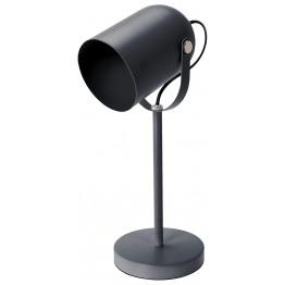 INTESI Lampka biurkowa Intesi Taylor szara mat