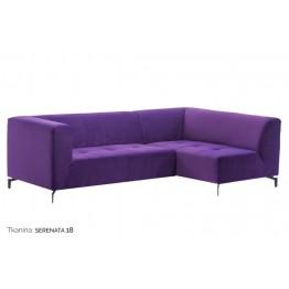 MADUU STUDIO Sofa Moderno 1 GR1 Tkanin