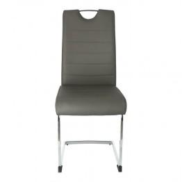 SIMPLET Krzesło Laura ciemny szary