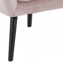 ACTONA Fotel Astro VIC różowy