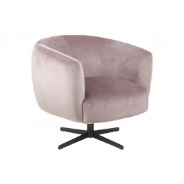 ACTONA Fotel Auburn VIC - Różowy