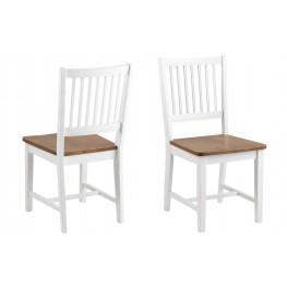 ACTONA Krzesło Brisbane białe