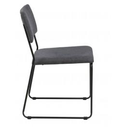 ACTONA Krzesło Cornelia Antracyt