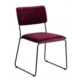 ACTONA Krzesło Cornelia VIC Bordo