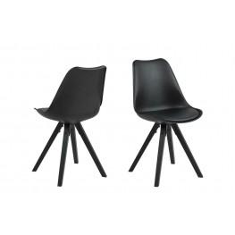 ACTONA Krzesło Dima black