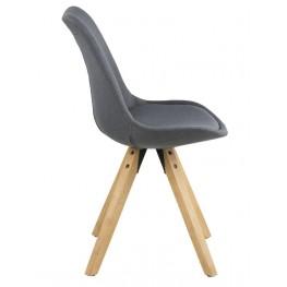 ACTONA Krzesło Dima dark grey