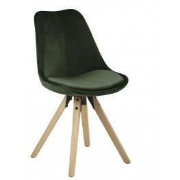 ACTONA Krzesło Dima VIC forest green/wood