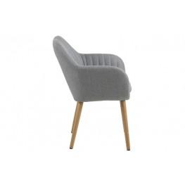 ACTONA Krzesło Emilia Light Grey