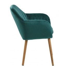ACTONA Krzesło Emilia Velvet green