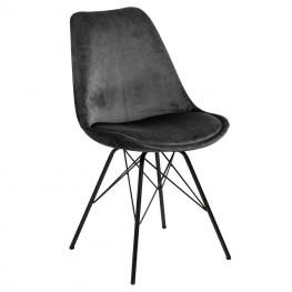 ACTONA Krzesło Eris VIC szare