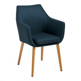 ACTONA Krzesło Nora Dark Blue