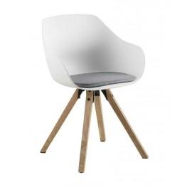 ACTONA Krzesło Tina Wood białe