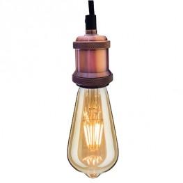 ALTAVOLA DESIGN Lampa wisząca Industrial Pink Chic
