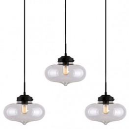 ALTAVOLA DESIGN Lampa wisząca London Loft 1 CL