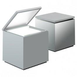 D2.DESIGN Lampka Cuboluce srebrna