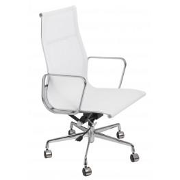 D2.DESIGN Fotel biurowy CH1191T biała siatka