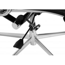D2.DESIGN Fotel Biurowy CH1191T Czarna Siatka