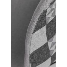 D2.DESIGN Hoker P016W Pattern szary-patchwork
