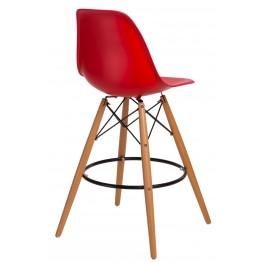 D2.DESIGN Hoker P016W PP czerwony
