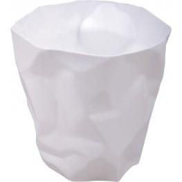 """D2.DESIGN Kosz na śmieci """"Papier"""" biały"""