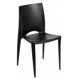 D2.DESIGN Krzesło Bee Czarne