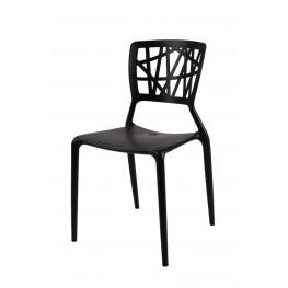 D2.DESIGN Krzesło Bush - Czarne