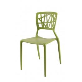 D2.DESIGN Krzesło Bush zielone