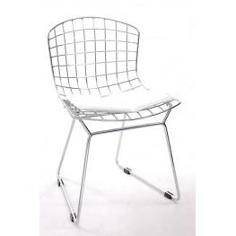 D2.DESIGN Krzesło dziecięce Harry Junior biała poduszka