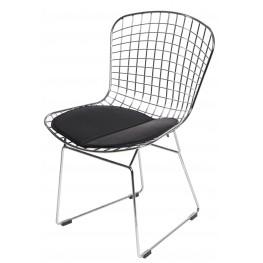 D2.DESIGN Krzesło dziecięce Harry Junior - Czarna
