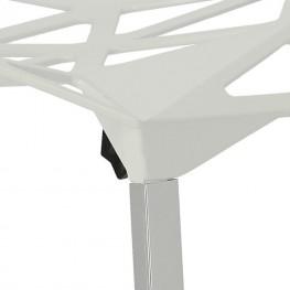 D2.DESIGN Krzesło Gap białe