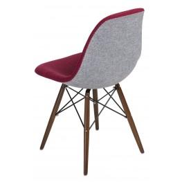D2.DESIGN Krzesło P016W Duo czer. szare /dark