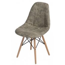 D2.DESIGN Krzesło P016W Pico oliwkowe