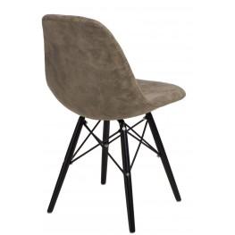 D2.DESIGN Krzesło P016W Pico oliwkowe/black