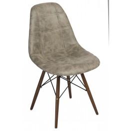 D2.DESIGN Krzesło P016W Pico oliwkowe dark