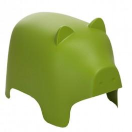 D2.DESIGN Siedzisko dziecięce Piggy zielone