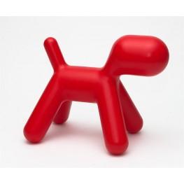 D2.DESIGN Siedzisko Pies czerwony