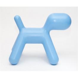 D2.DESIGN Siedzisko Pies niebieski