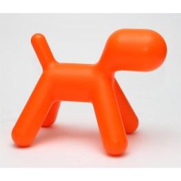 D2.DESIGN Siedzisko Pies pomarańczowy