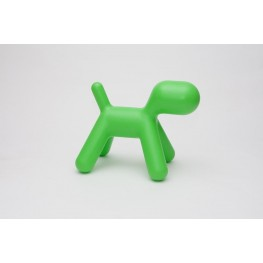 D2.DESIGN Siedzisko Pies zielony