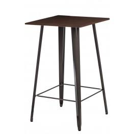 D2.DESIGN Stół barowy Paris Wood metal sosna orzec h