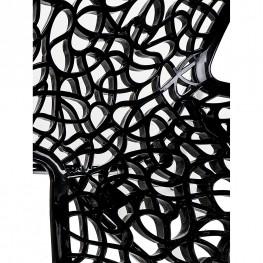 D2.DESIGN Stołek barowy Cepelia czarny