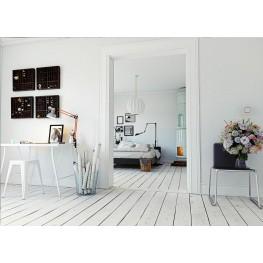 D2.DESIGN Stołek Paris biały inspirowany Tolix