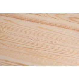 D2.DESIGN Stołek Paris Wood biały sosna naturalna