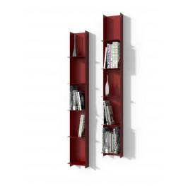 INTESI Biblioteczka Libra 1 czerwona