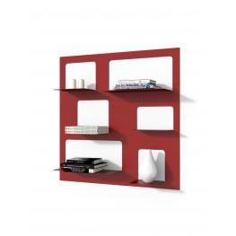 INTESI Biblioteczka Libra 3 czerwona