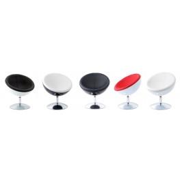 INTESI Fotel Mercury K-biały, S-białe