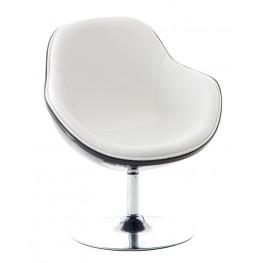 INTESI Fotel Pezzo K- Czarny, S - Białe 906