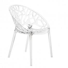 INTESI Krzesło Coral transparent